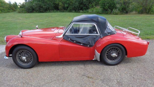 BF AUCTION: 1957 Triumph TR3
