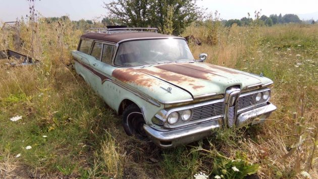 Field Fresh Wagon: 1959 Edsel Villager