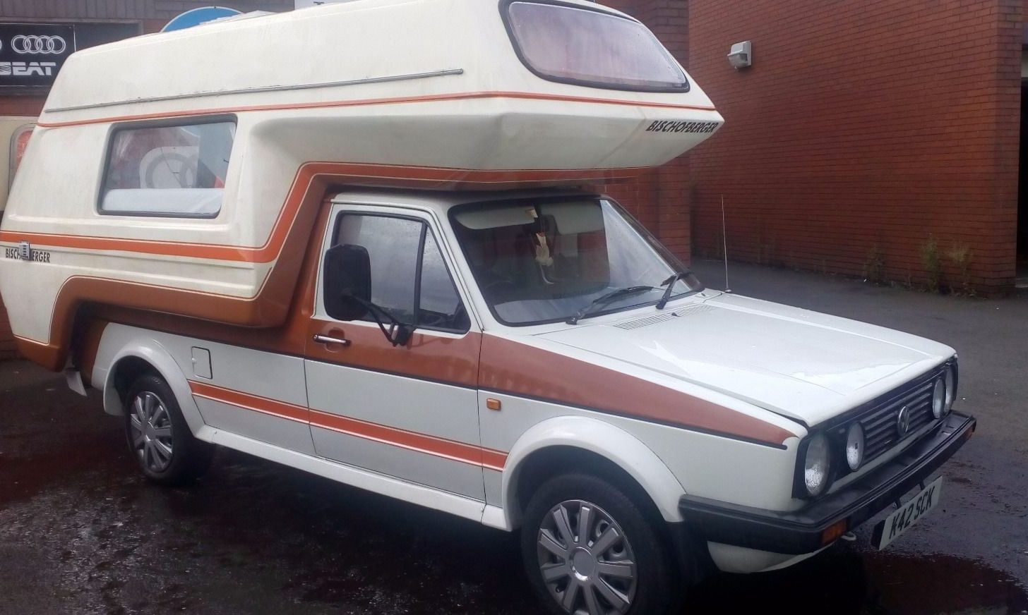 Not a Dolphin: VW Bishcofberger Camper