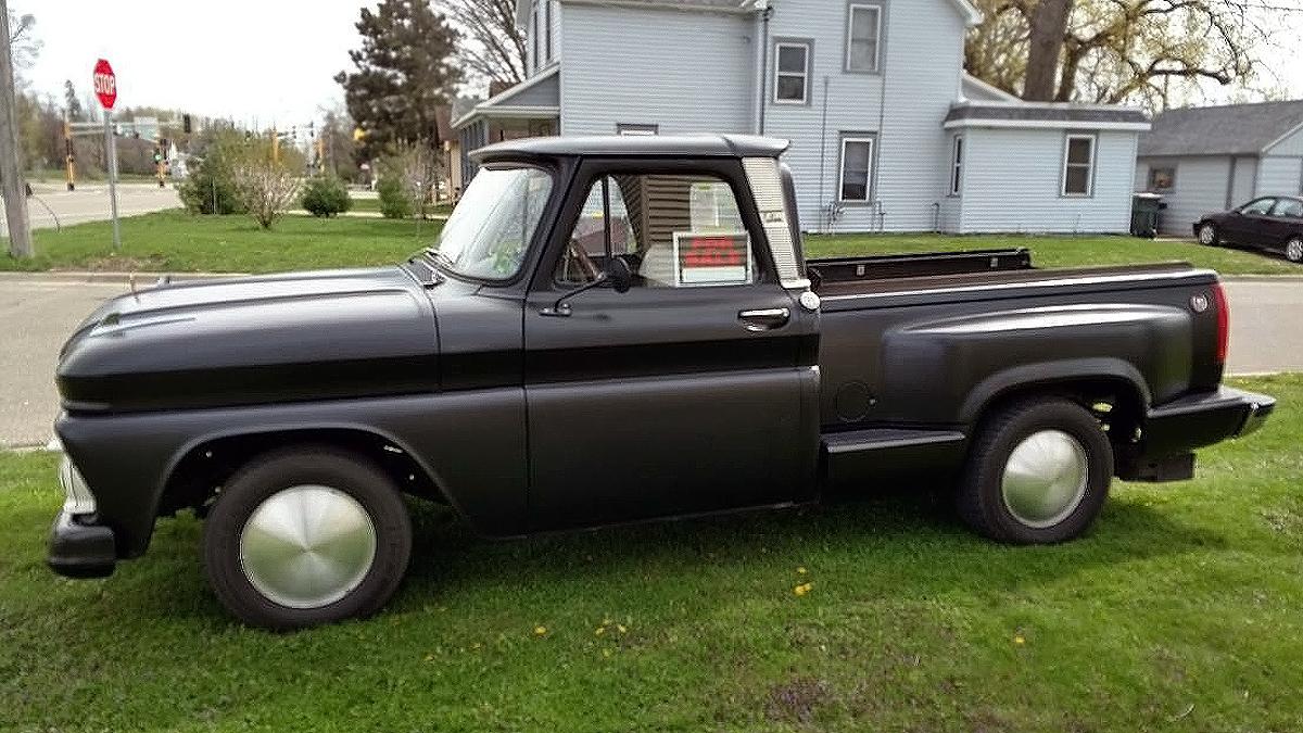 Basic Car Maintenance >> 500 V8 Rear Engine! 1964 GMC Pickup