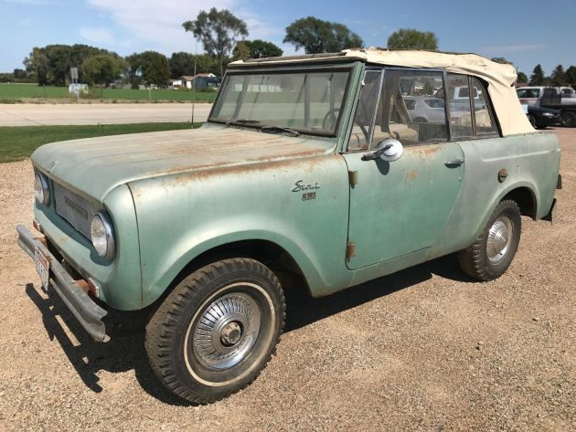 Sportop Project: 1966 International Harvester Scout