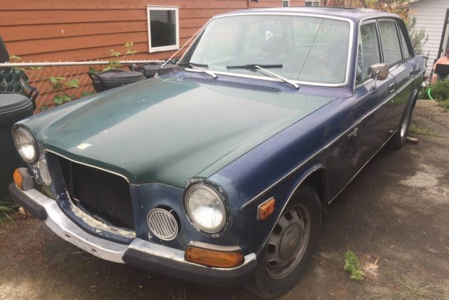 Throwaway Money, Keeper Car: 1972 Volvo 164E