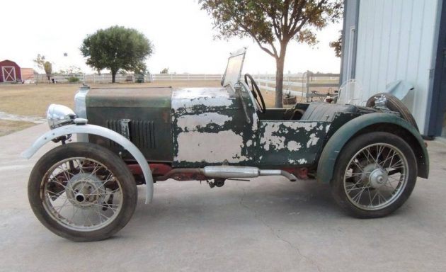Barn Find Racer: 1930 MG M