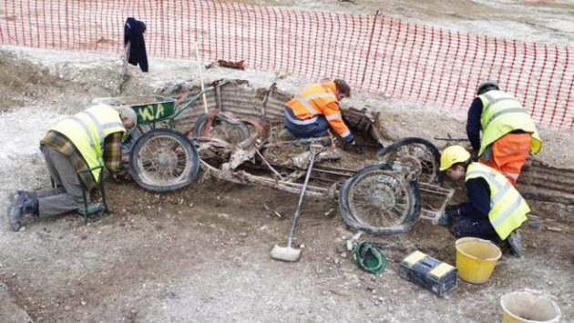 1932 MG J2 Discovered By Archaeologists!