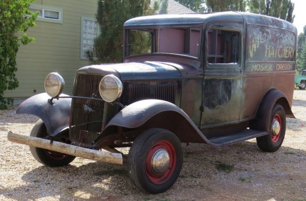 Hatchery Hauler: 1934 Ford Panel Delivery