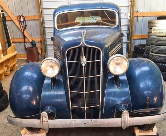 Reasonably Priced: 1935 Plymouth Deluxe