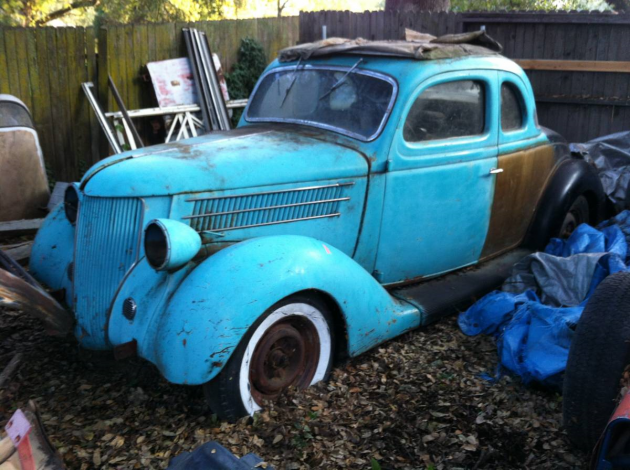 I M Gonna Fix It Up Someday 1936 Ford Coupe