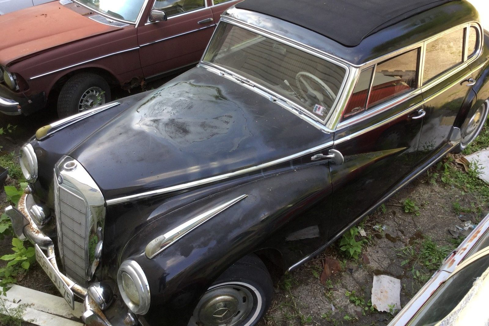 World 39 s largest sunroof 1955 mercedes benz 300c adenauer for Mercedes benz 300c