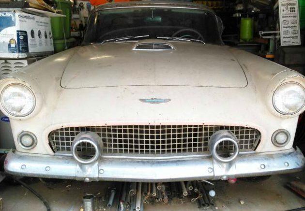 I'm On Fire (Again): 1956 Ford Thunderbird