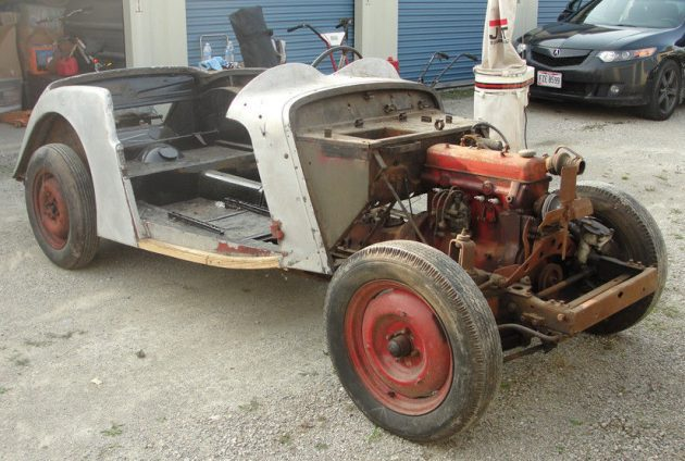 Some Assembly Required:  1956 Singer Roadster