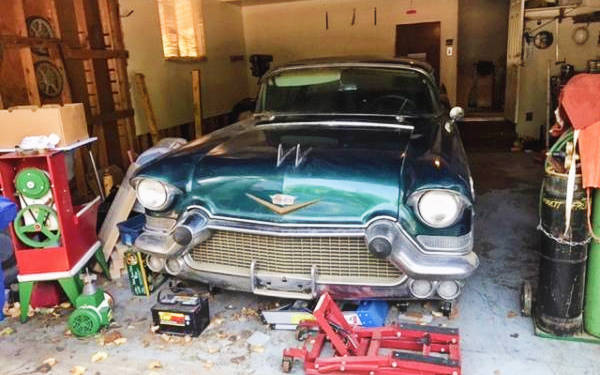 Parked Project: 1957 Cadillac Coupe DeVille