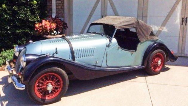 Mountain Garage Find: 1958 Morgan Plus 4