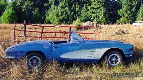 Dual Quad Carport Find: 1961 Corvette