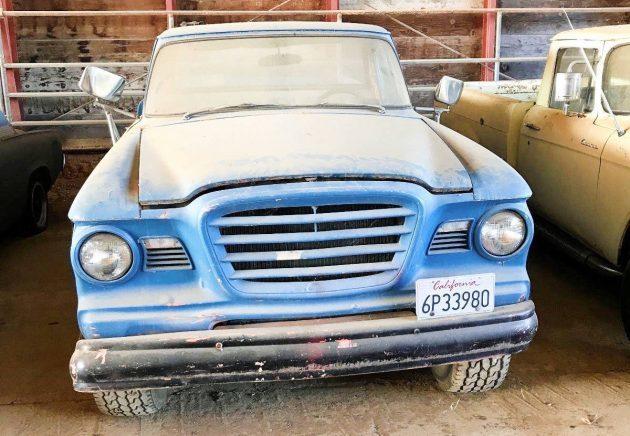 Champ In The Barn: 1962 Studebaker Truck