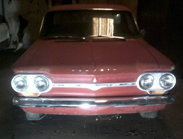 Tomb Raider-Corvair Edition: 1964 Chevrolet Corvair Monza Coupe
