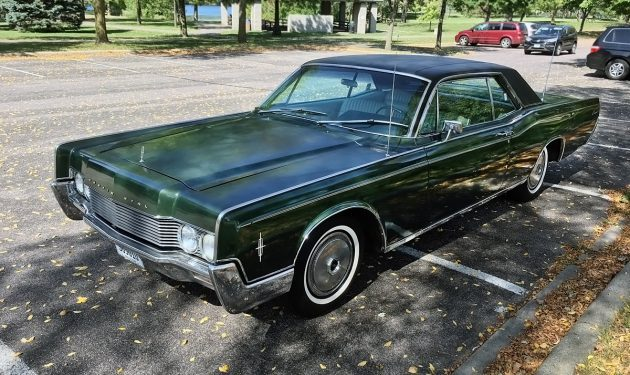 Scotty G's Garage: 1966 Lincoln Continental Coupe