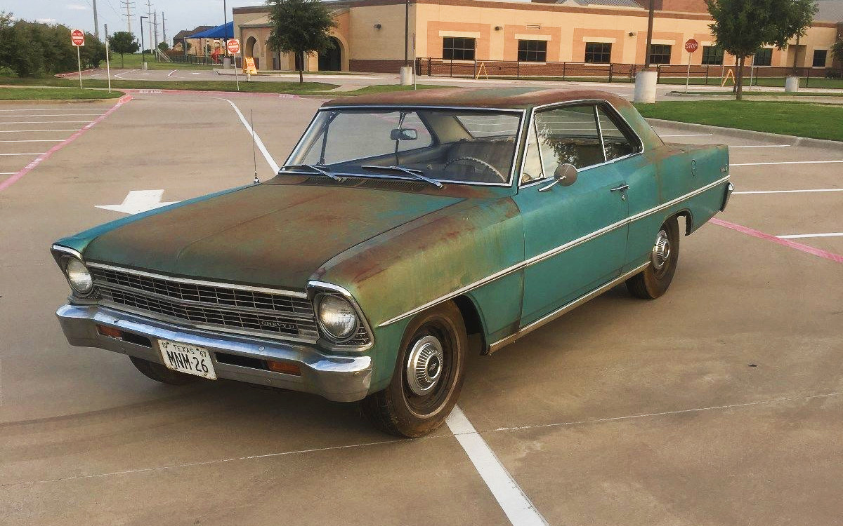 Six Cylinder Survivor: 1967 Chevrolet Nova