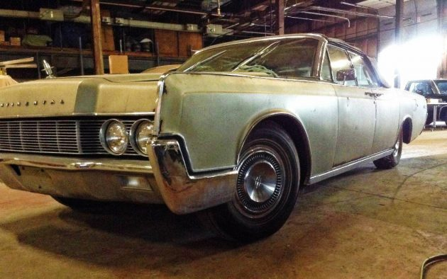 58k Mile 1967 Lincoln Continental Convertible Project