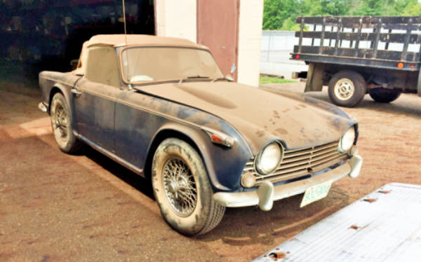 The Right Kind Of IRS: 1967 Triumph TR4A