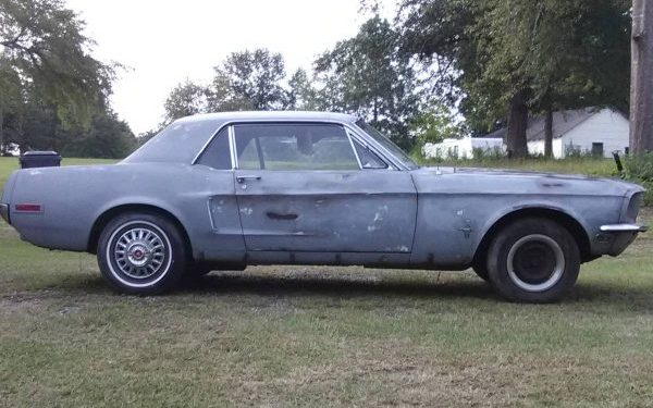 Another Potential Good Deal: 1968 Ford Mustang Coupe