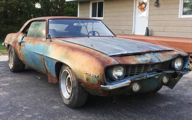 No Reserve But Rusty 1969 Camaro