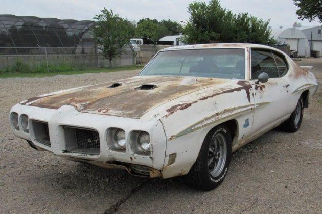 1970 Pontiac GTO Judge Barn Find!