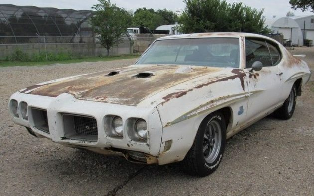 1970 pontiac gto judge barn find. Black Bedroom Furniture Sets. Home Design Ideas