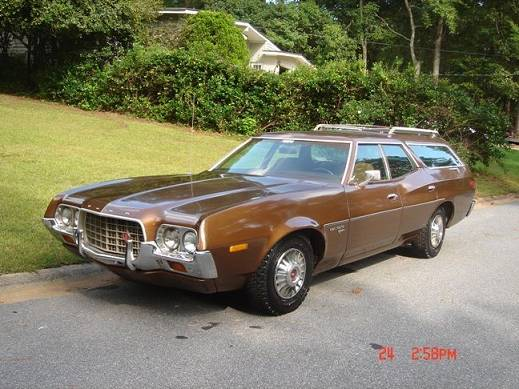 1972 Gran Torino For Sale Craigslist >> Sweet Street Sleeper: 1972 Ford Gran Torino Squire Wagon