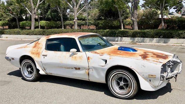 Rare Muscle: 1972 Pontiac Trans AM 455 HO
