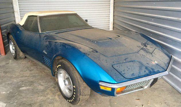 Parked With 967 Miles: 1972 Corvette Convertible