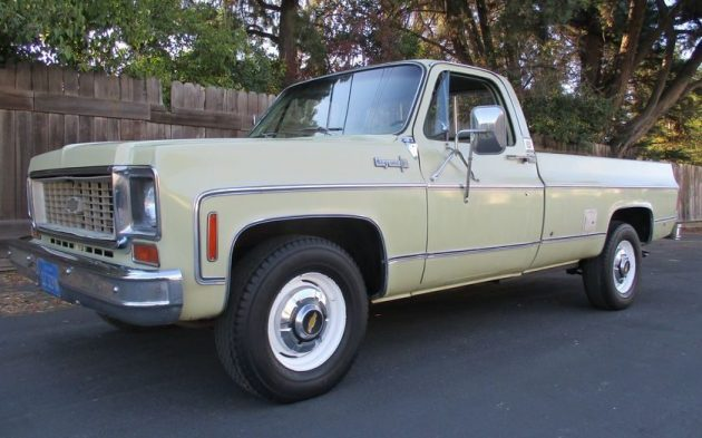 1973 Chevy Truck >> Big Block Pickup 1973 Chevrolet 2500 Camper Special