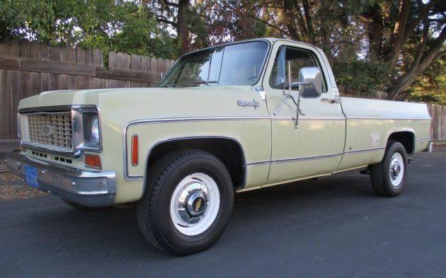Big Block Pickup: 1973 Chevrolet 2500 Camper Special