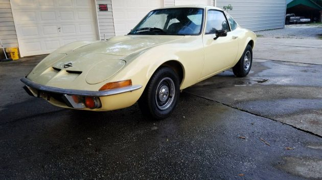 Half Of What You Need: 1973 Opel GT