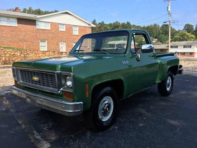 Oh So Pretty 1974 Chevrolet Step Side Pickup