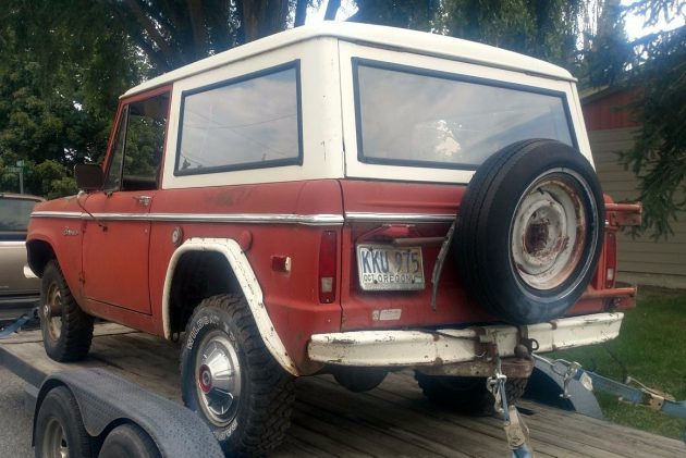 First Gen Bronco 1974 Ford Bronco Sport 302
