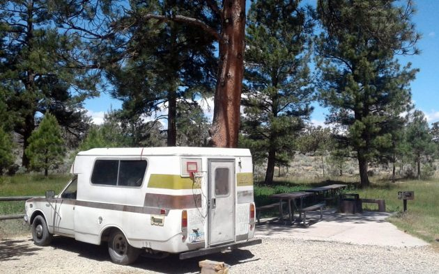 BF AUCTION: 1974 Toyota Chinook RV