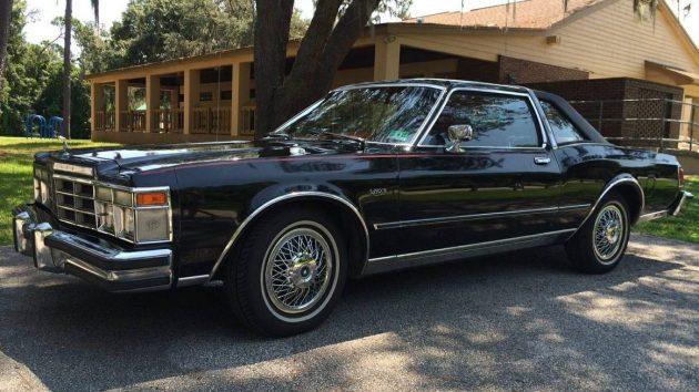 Black Beauty 1978 Chrysler Lebaron Medallion