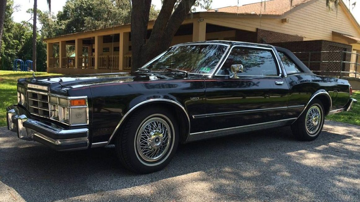 Black Beauty 1978 Chrysler Lebaron Medallion