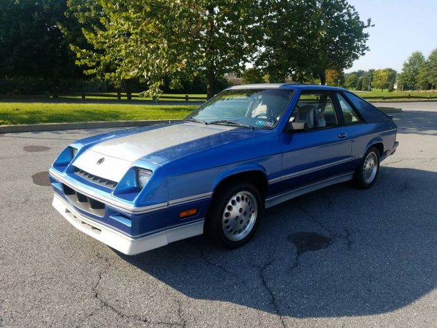Almost There: 1984 Dodge Shelby Charger