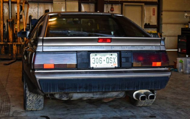 Badge Engineered: 1987 Chrysler Conquest TSi