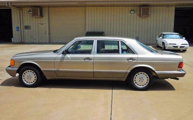 Luxury And Power: 1989 Mercedes 420SEL