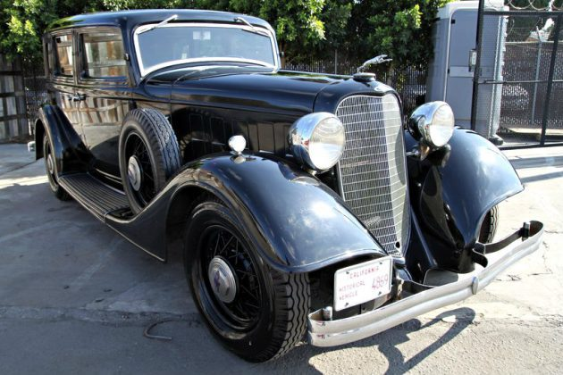 V12 Survivor To Admire: 1934 Lincoln Town Car