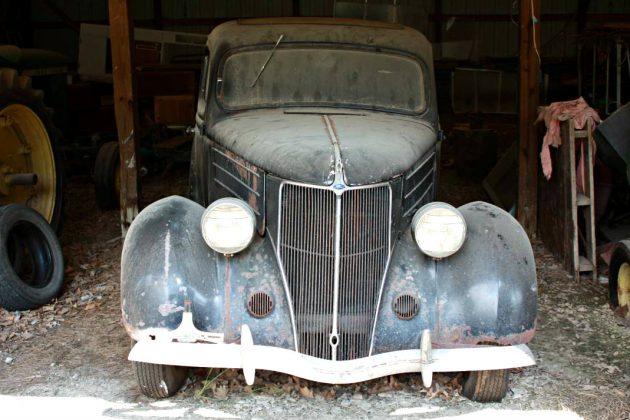 Barn Bound Sedan: 1936 Ford