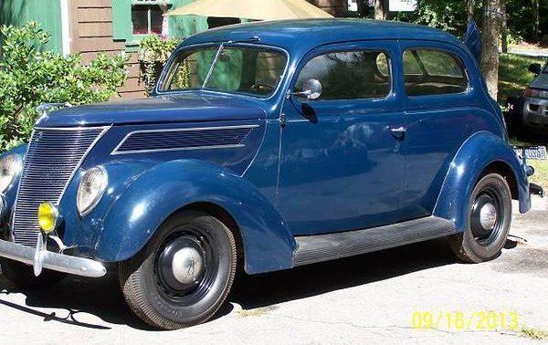 Interesting Options: 1937 Ford Two Door Sedan