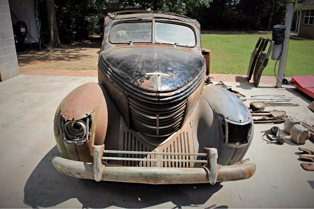 Texas Car Barn >> One-Off? 1938 Graham Sharknose Convertible