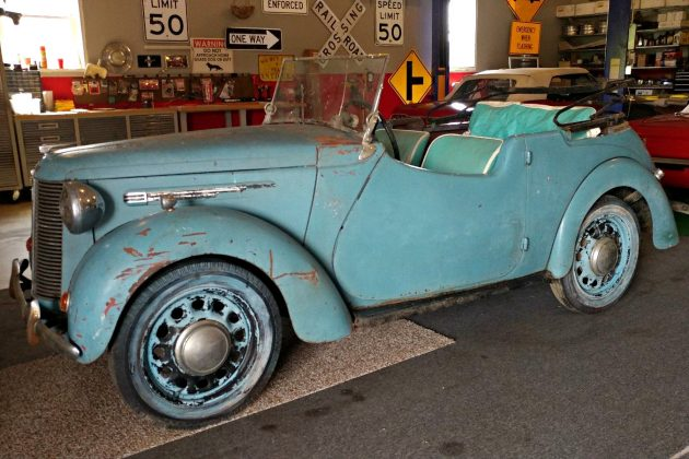 English Prewar Convertible: 1939 Austin 8 Tourer