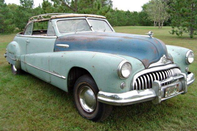 Open Roof Roadmaster: 1948 Buick