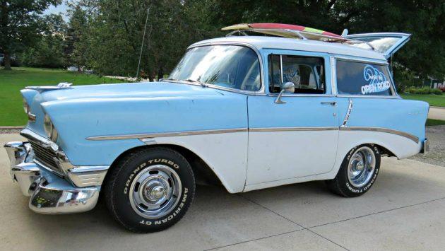 Shorty Station Wagon: 1956 Chevrolet