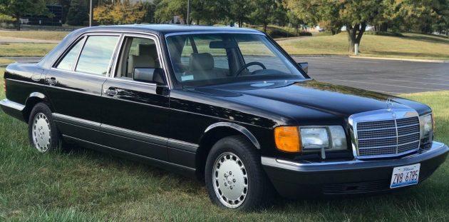 13 800 miles 1991 mercedes 560 sel. Black Bedroom Furniture Sets. Home Design Ideas