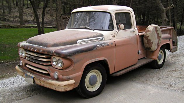 Peachy Keen Survivor: 1958 Dodge C100